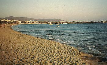 Naxos - Der Strand von Ajia Anna