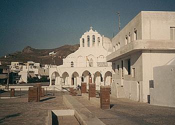 Naxos - Die orthodoxe Kathedrale in der Inselhauptstadt (Chora)