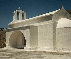 Naxos - Die Kirche Stavros Keramotis