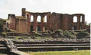 Die Ruinen der Kaiserthermen