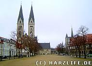Domplatz in Halberstadt