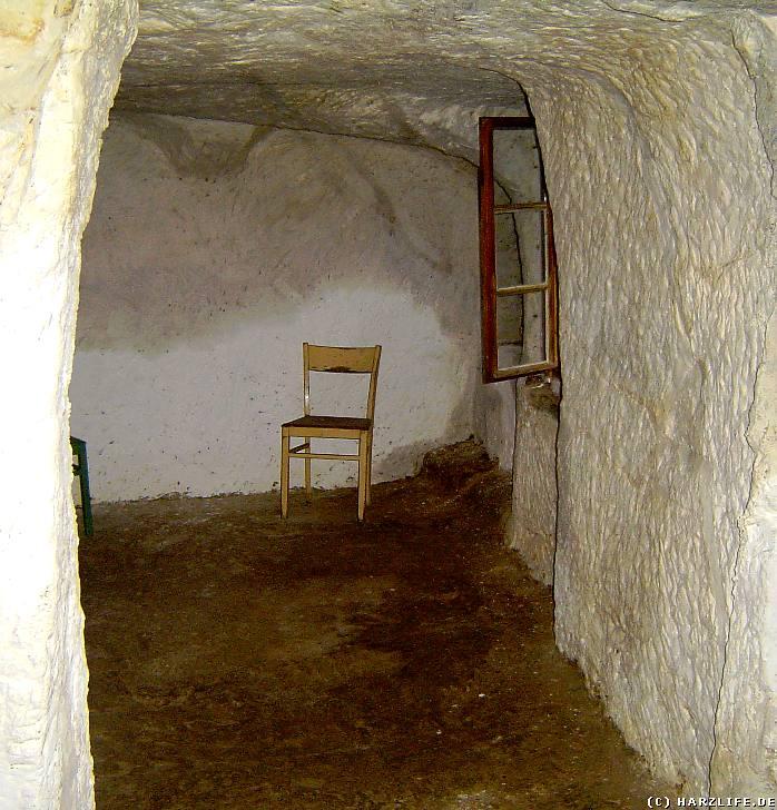 Innenansicht einer Höhlenwohnung