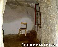 Höhlenwohnung - sanierte Wohnstube