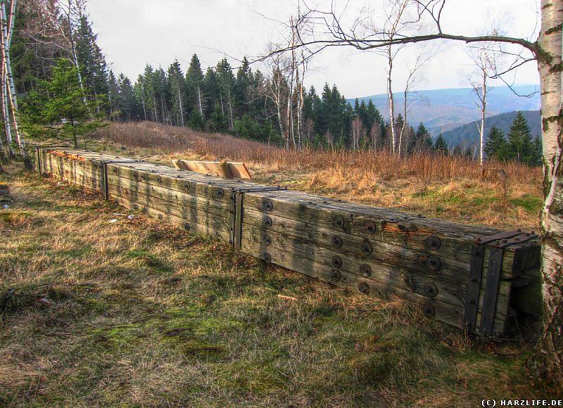 Reste vom alten Ostlandkreuz