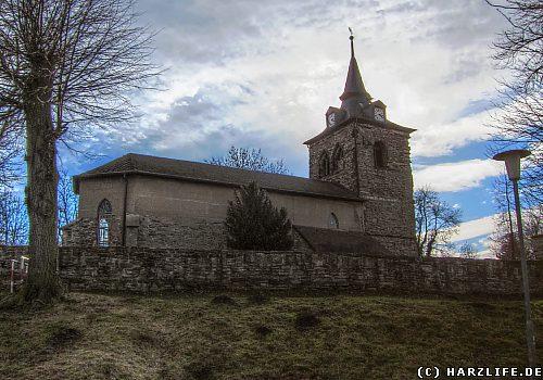 Die St.-Andreas-Kirche in Siersleben