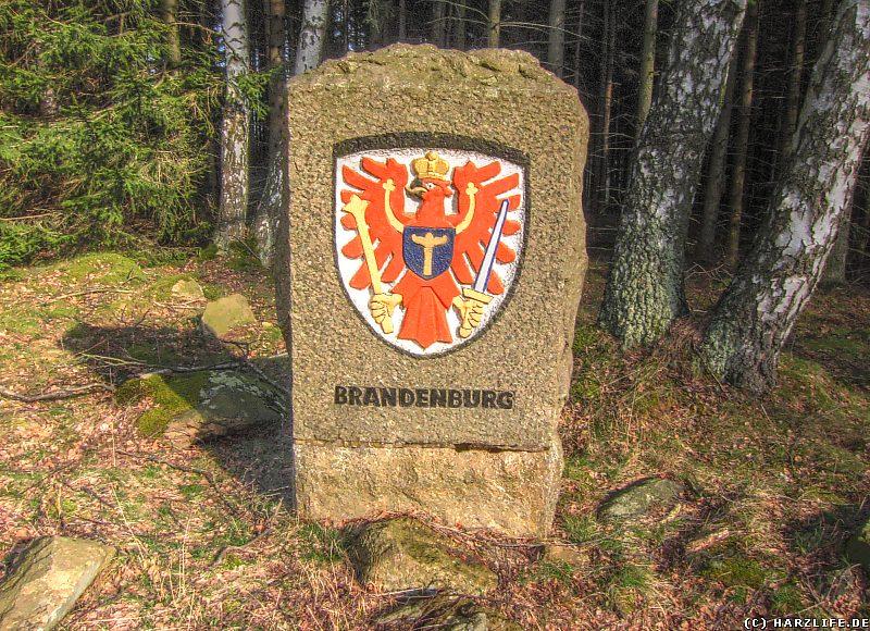 Gedenkstein für die Vertriebenen aus der Provinz Brandenburg Region Neumark