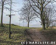 Das Gelände der Kernburg