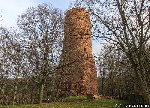 Die Burgruine Bornstedt