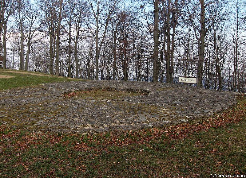 Der Standort des einstigen Rundturms