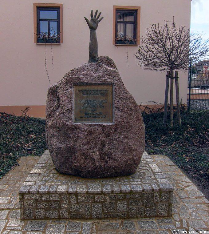 Gerbstedt - Gedenkstein zum Volksaufstand 1953 und Mauerfall 1989