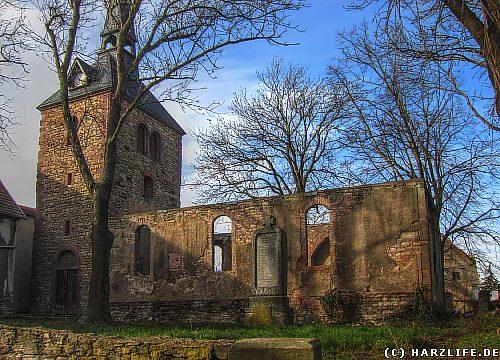 Die St.-Georg-Kirche in Thondorf