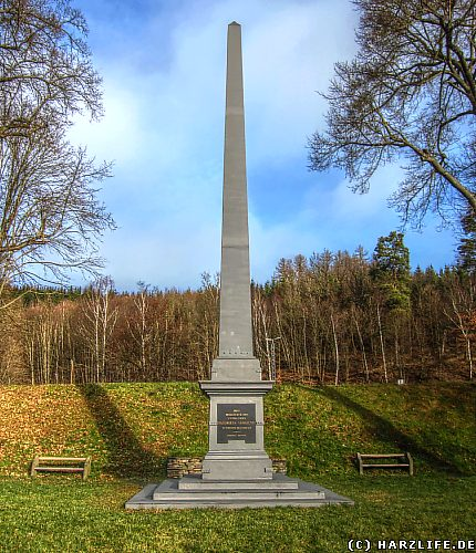 Der Obelisk in Mägdesprung
