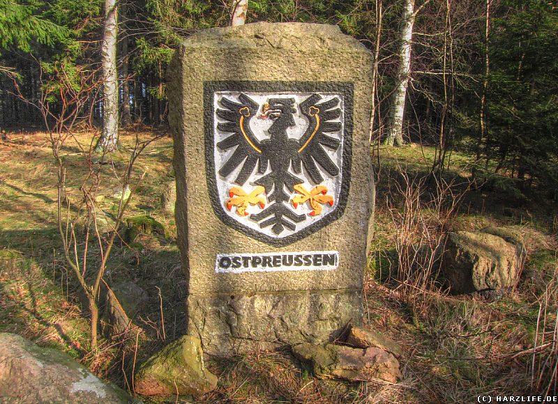 Gedenkstein Ostpreussen