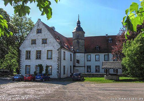Das Schloß Oberwiederstedt