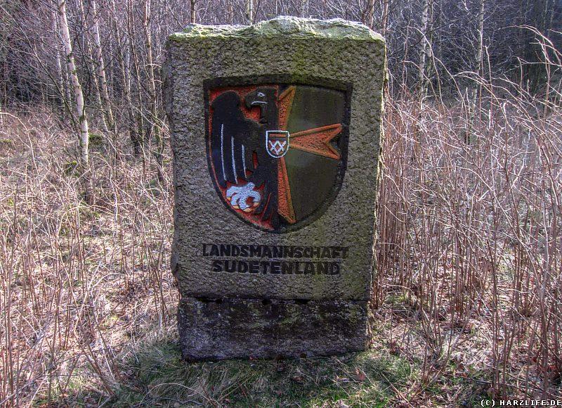 Gedenkstein für die Vertriebenen aus dem Sudetenland