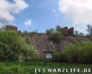 Ruinen auf der Zirkelschachthalde
