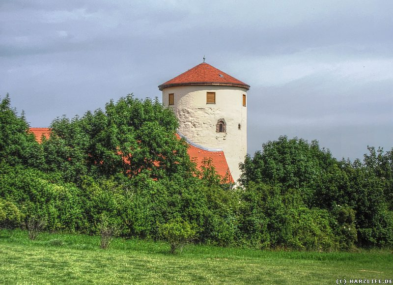 Burg Freckleben - Der Bergfried 1