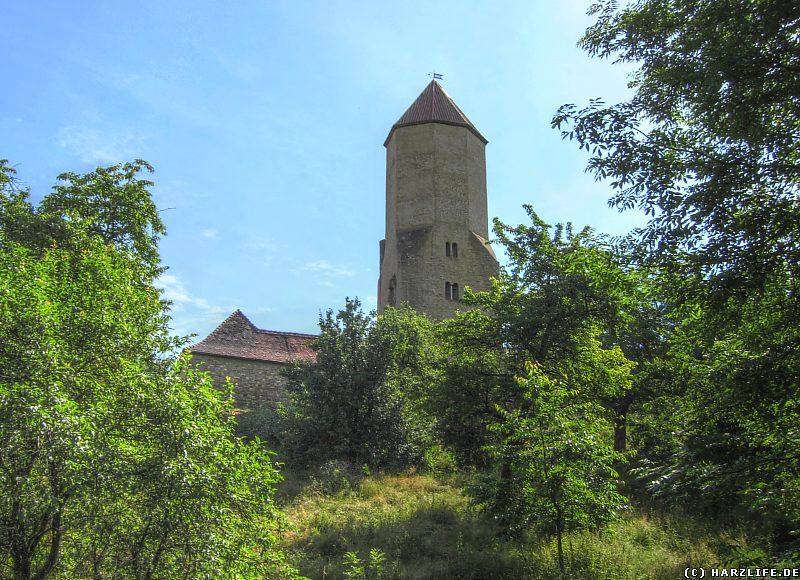 Burg Freckleben - Der Bergfried 3