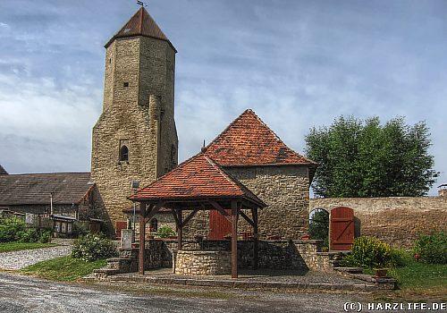 Die Burg Freckleben