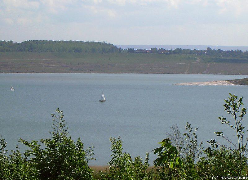 Segelboote auf dem Concordiasee im Jahre 2004