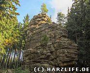Die Feuersteinklippen bei Schierke