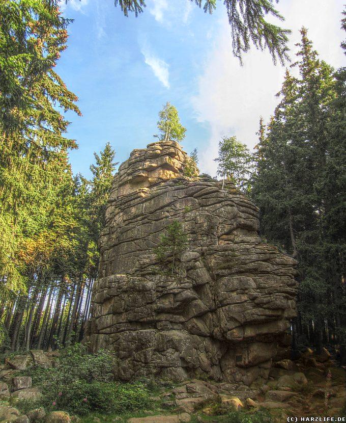 Die Feuersteinklippe bei Schierke