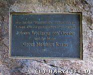 Goethe war auch schon da...