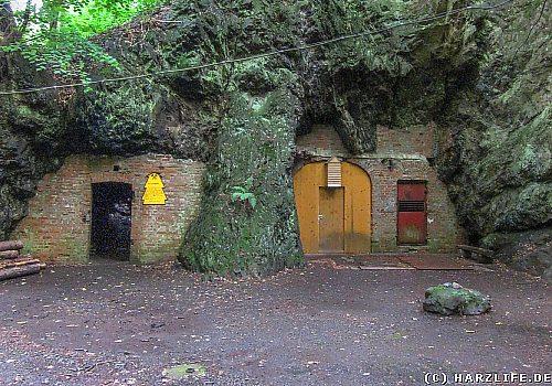 Die Lessinghöhle bei Bad Suderode