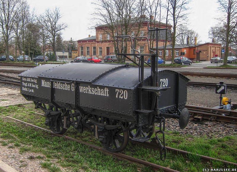 Güterwaggon vom Typ Klappdeckelwagen (Betriebsnummer 720)