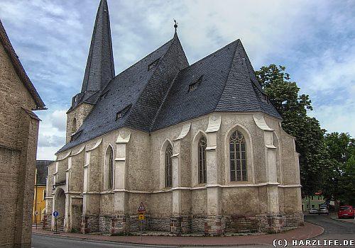 Die St.-Marien-Kirche in Sandersleben