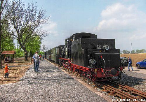 Der Bahnhof Zirkelschacht