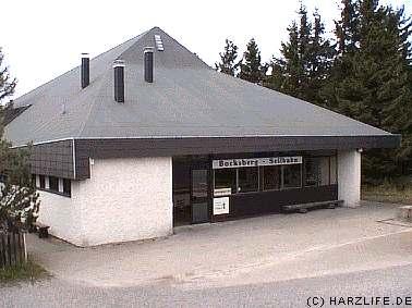 Bergstation der Bocksbergseilbahn