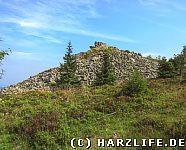Die Wolfswarte bei Altenau