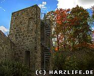 Blankenburg - Aussichtsturm im Berggarten