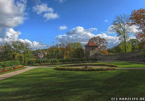Der Berggarten in Blankenburg