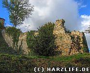 Blankenburg - Reste der Stadtmauer
