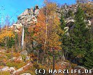 Felsklippen am Hohnekopf