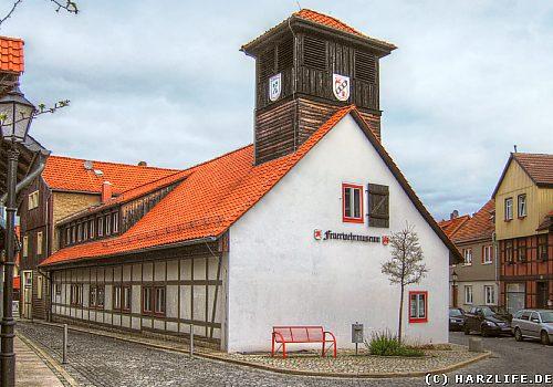 Das Feuerwehrmuseum in Wernigerode