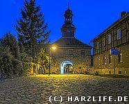 Kloster Michaelstein am Abend