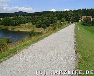 Staudamm Mandelholztalsperre