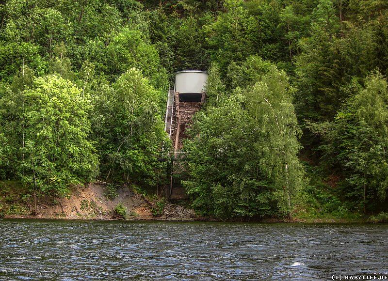 Das Wasserschlößchen am Stausee Wendefurth
