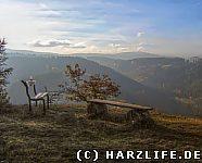 Blick vom Steinbergkopf auf den Brocken