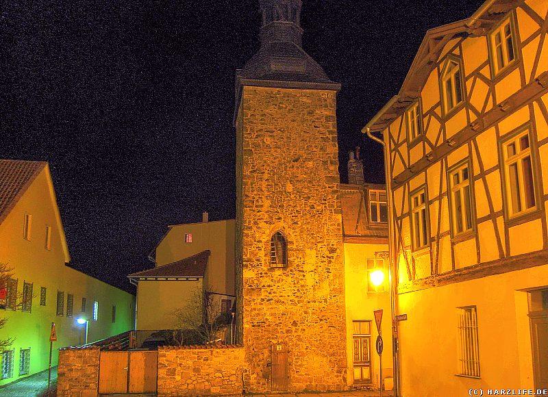 Nacht am Oberturm