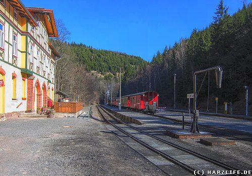 Der Bahnhof Eisfelder Talmühle