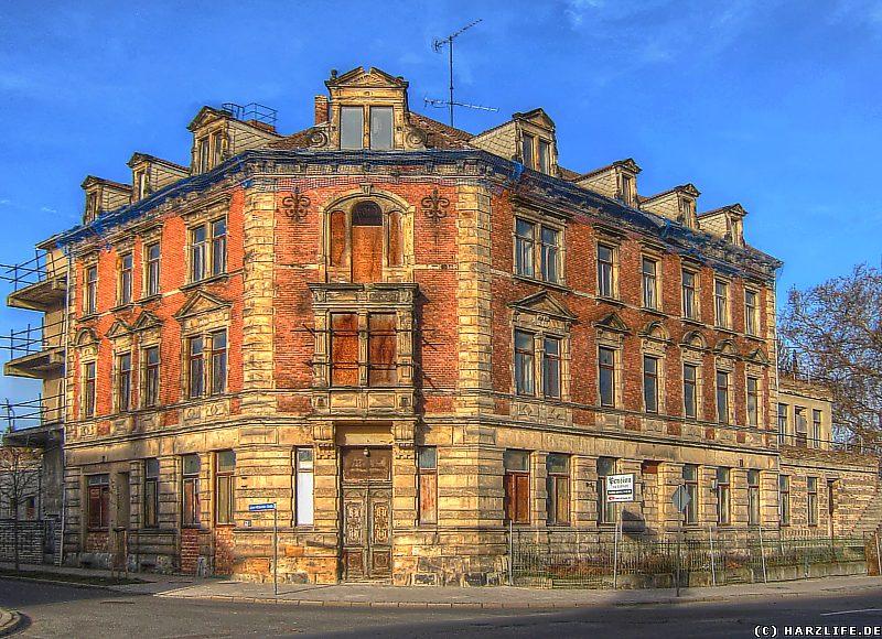 Das ehemalige ''Hotel Kaiser Wilhelm'' Blankenburg