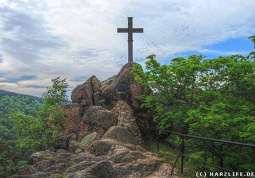 Kreuz auf dem Ilsestein