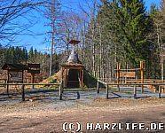 Die Köhlerhütte am Hirschstein