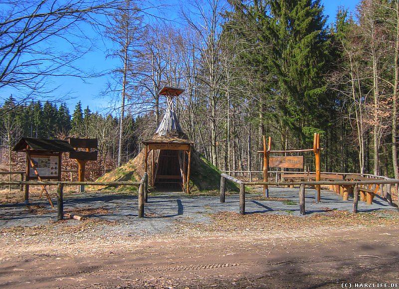 Wanderung Selketal - Die Köhlerhütte am Hirschstein