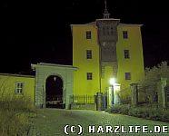 Schloß Ballenstedt - Nordflügel bei Nacht