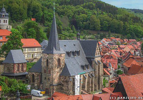 Die St.-Martini-Kirche zu Stolberg
